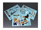 Self Adhesive Decal Sheet - Fate T Halaown 1/10 Scale