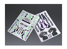 Self Adhesive Decal Sheet - Drift 1/10 Scale