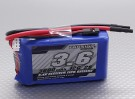 Turnigy 3600mAh 2S 12C Lipo Receiver Pack