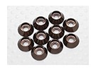 Sockethead Washers Anodised Aluminum M3 (Titanium Grey) (10pcs)
