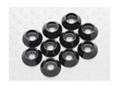Sockethead Washer Anodised Aluminum M3 (Black) (10pcs)