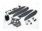 8-9 inch Variable Pitch Propeller Setup w/Linkage Assembly and Mount