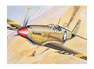 Italeri 1/72 Scale P-51 Mustang Plastic Model Kit