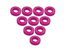 Aluminium M3 Flat Washer 1.5mm (10pcs) - 3Racing SAKURA FF 2014