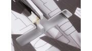 H-King SU-27 - Glue-N-Go - 5mm Foamboard PP 650mm (Kit) - motor mount