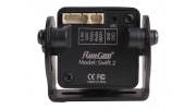 RunCam Swift 2 600TVL FPV Camera NTSC (Black) (Top Plug) - rear view