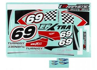 Durafly® ™ EFXtra - Sticker Set (Red)