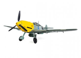 """Durafly™ Messerschmitt Bf.109E-4 Battle of Britain Scheme 1100mm (43.3"""") (PnF) - top"""