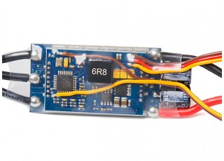 Aerostar RVS 60A Electronic Speed Controller rear