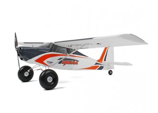 Durafly Color Tundra 1300mm Anniversary Edition (Orange/Grey) (PnF) - Side