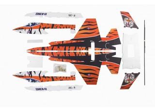 H-King F-35 - Glue-N-Go - Foamboard PP 650mm (Kit) - parts