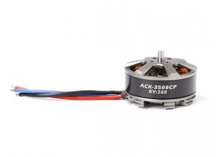 ACK-3508CP-580KV Brushless Outrunner Motor 3~4S (CW) - large view