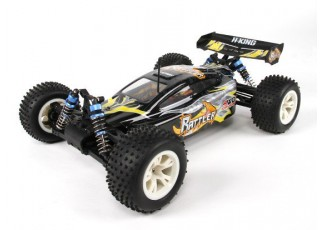 H-King Rattler 1/8 4WD Buggy (RTR) with 60A ESC - side view