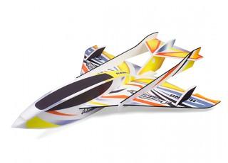 H-King Arctic Cat Water Plane - Glue-N-Go - Foamboard PP 820mm Yellow (Kit)