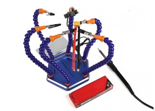 Turnigy Six Arm Soldering Station (w/USB Fan) - plugs