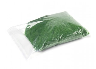 3mm Static Grass Flock - Medium Dark Green (250g) - bag