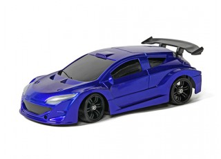 Mini-Q Sport 1:28 RC AWD Touring Car (RTR) (Blue)
