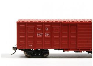 P64K Box Car (Ho Scale - 4 Pack) Detail 3