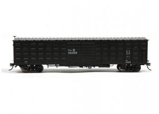 P64K Box Car (Ho Scale - 4 Pack) Black side