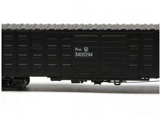 P64K Box Car (Ho Scale - 4 Pack) Black detail 3