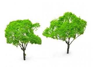 HobbyKing™ 120mm Light Green Scenic Wire Model Trees (2 pcs)