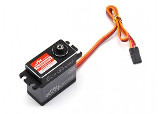 JX CLS6336HV High Voltage Coreless Metal Gear High Torque Servo 35.6kg/0.11sec/63g with lead