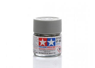 Tamiya XF-83 Flat RAF Medium Sea Grey 2 Mini Acrylic Paint (10ml)