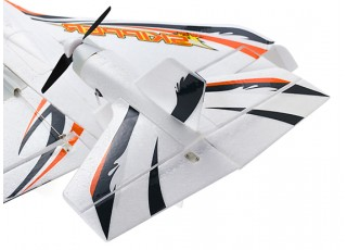 H-King Skipper All Terrain Airplane EPO 700mm (PNF) Orange - rear