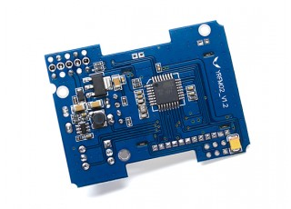 DIY 4-IN-1 Multi-protocol TX Module With Antenna - bottom view
