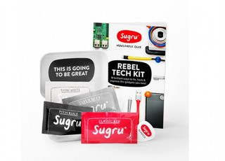 Sugru™ Rebel Tech Kit (4 x 5g) Contents