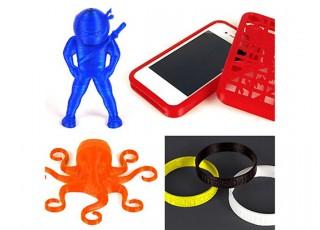 NinjaFlex TPU Flexible 3D Printer Filament 1.75mm (Fire) 0.5kg 2