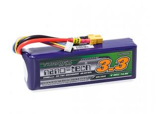 Turnigy nano-tech 3300mAh 4S 35~70C Lipo Pack w/XT-60