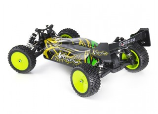 Quanum Vandal 1/10 4WD Electric Racing Buggy (KIT) - left rear view
