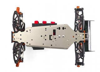 BSR Berserker 1/8 Electric Truggy Updated (Kit) - bottom