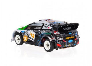 WL Toys K989 1:28 Scale Rally Car (RTR) rear view