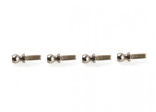 WL Toys K989 1:28 Scale Rally Car - Replacement Pivot Ball Screw K989-10 (4pc)