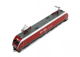 HXD1D Electric Locomotive Red HO Scale (DCC Equipped) No.2 2