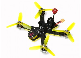 EMAX Nighthawk Pro 200 (PNP) w/o Radio, Battery - top left view