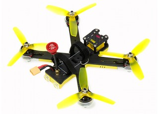 EMAX Nighthawk Pro 200 (PNP) w/o Radio, Battery - top back view