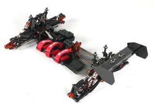 BSR Berserker 1/8 Electric Truggy Updated (Kit) - Rear 3/4 top full