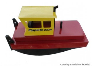 SCRATCH/DENT Zippkits Tugster Tug Boat Kit (455mm) Complete with hardware kit