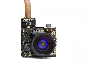 VM275T 25MW 48CH Mirco VTX and Camera Front View