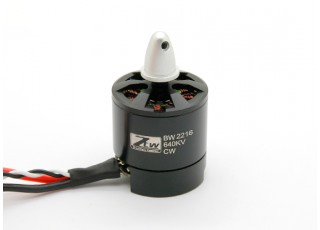 SCRATCH/DENT - Black Widow 2216 640KV With Built-In ESC CW