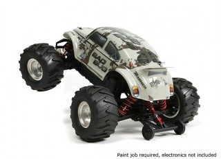 Basher 1/16 4WD Mini Monster Truck V2 - Bad Bug (Kit) 7