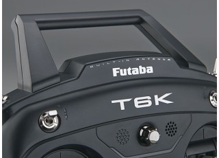 Futaba 6K V2 8-Channel 2.4GHz Computer Radio System (Mode 2) - top