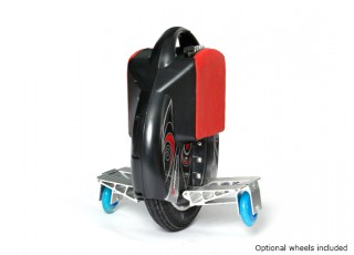 Intelligent Self-balancing Electric Unicycle training wheels
