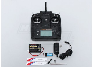 Solo PRO 100 3G Flybarless 3D Micro Helicopter transmitter