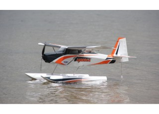 Durafly Color Tundra 1300mm Anniversary Edition (Orange/Grey) (PnF) - Float 1