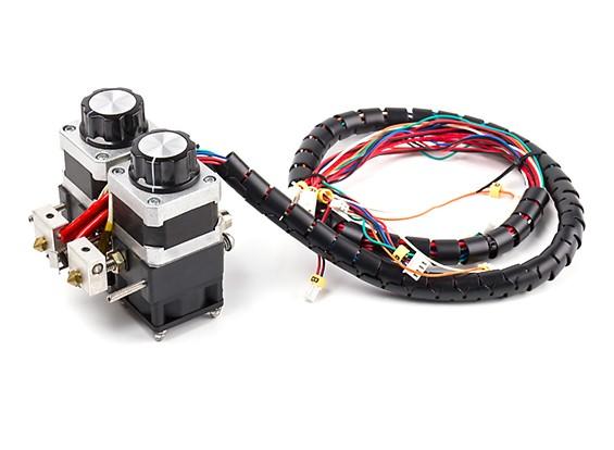 Malyan M180 Dual Head 3D Printer Dual Head Extruder Assembly