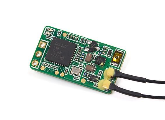 FrSky XM Plus Micro Ultra-Light 16 Channel Full-Range S.bus Receiver (Standard Version)